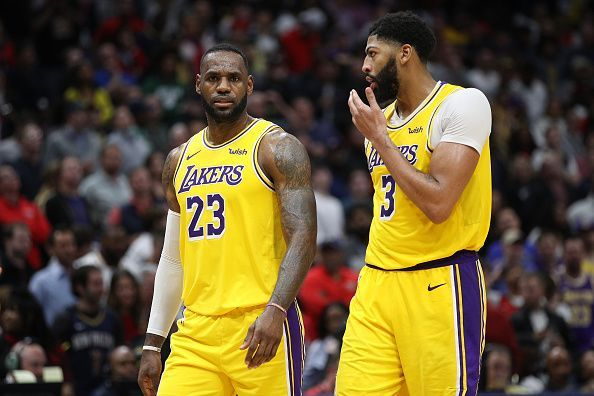 LeBron James and the Los Angeles Lakers face the Utah Jazz
