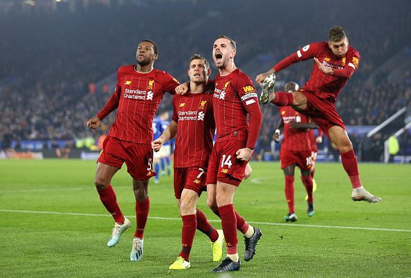 Liverpool produced a fine display to beat Leicester City at the King Power Stadium
