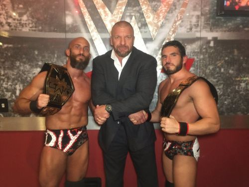 Team DIY with Triple H