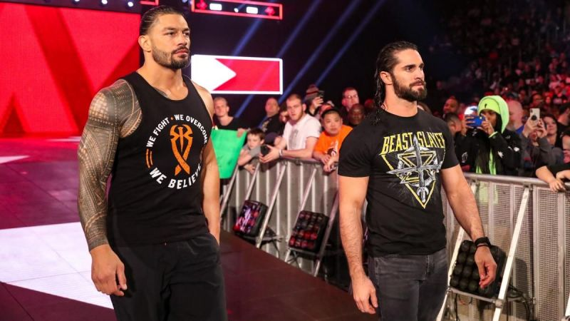 Rollins and Reigns are both two of WWE