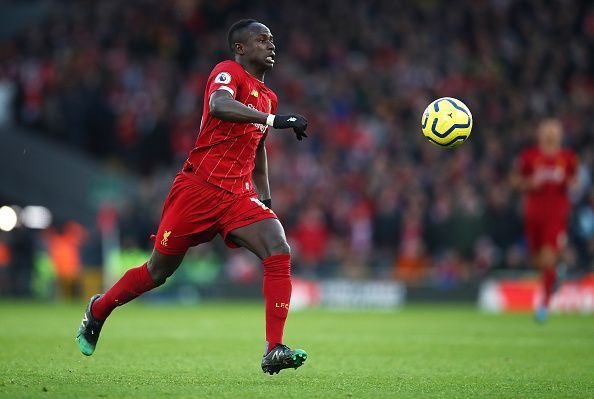Sadio Mane is leading the charge for Liverpool