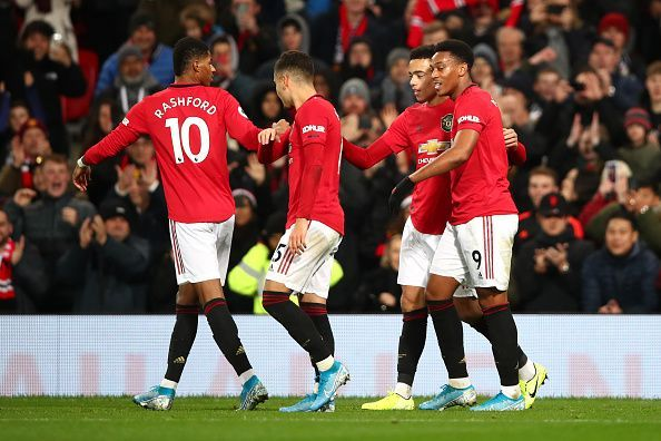 Manchester United comfortably beat Newcastle United