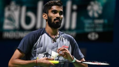 India's Kidambi Srikanth will aim to defend his gold medal in the Men's Individual event