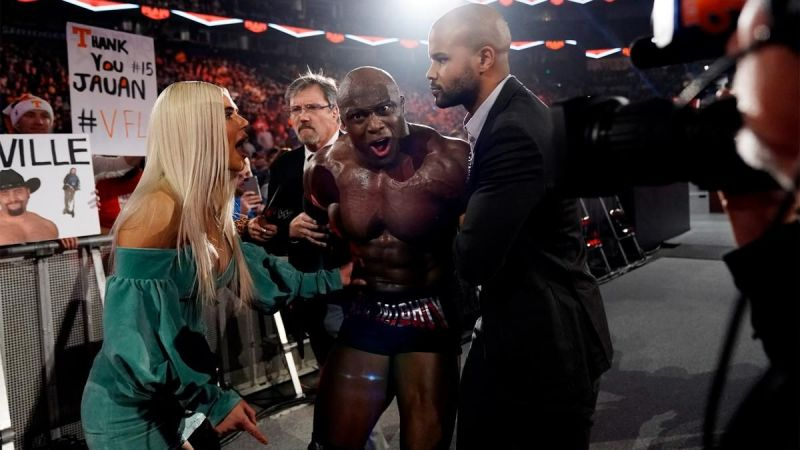 Bobby Lashley and Lana got arrested during the episode!