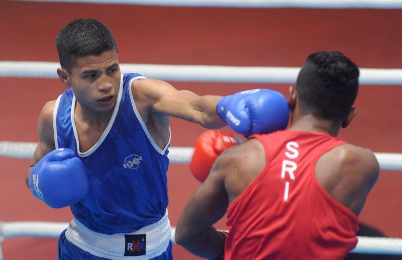 Boxing event - South Asian Games 2019