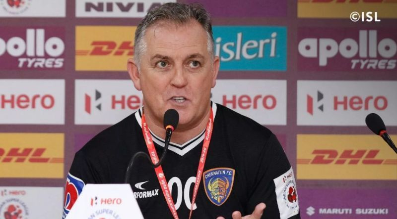 Coyle was none too pleased with the officiating for the second game in a row (Image: ISL)
