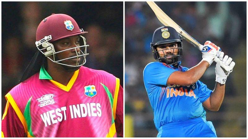 रोहित शर्मा और क्रिस गेल जबरदस्त बल्लेबाज है