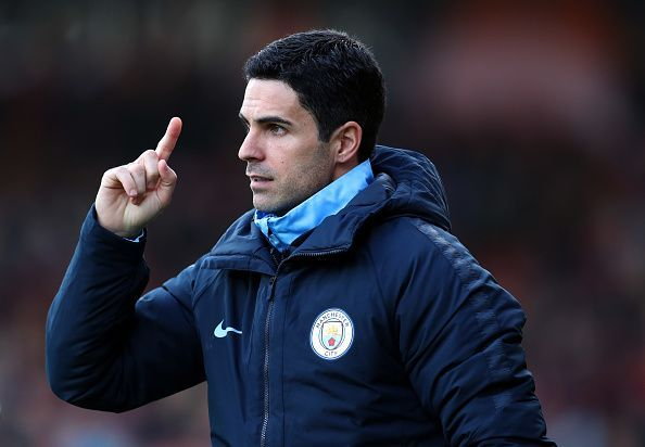 Arteta is taking on his first managerial role at the Emirates