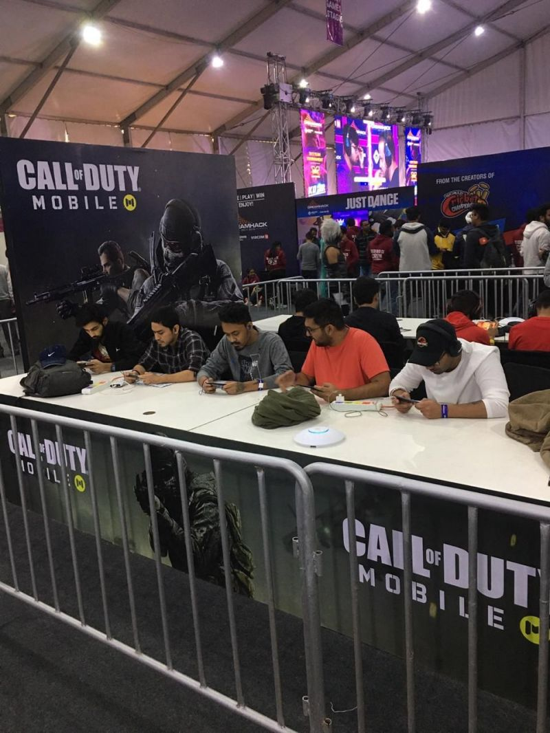 Call of Duty Mobile booth