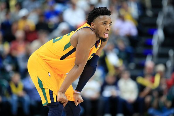 Donovan Mitchell has excelled throughout the first two months of the season