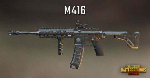 M416 in PUBG Mobile