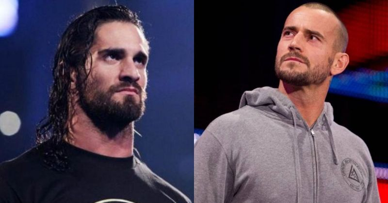 Seth Rollins and CM Punk