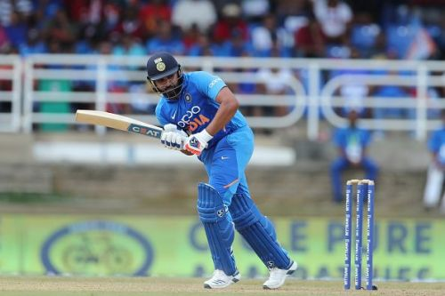 Rohit Sharma is set to become the first Indian to hit 400 sixes in international cricket