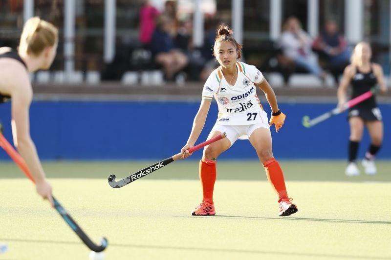 Lalrindiki scored the opening goal for Indian Junior Women