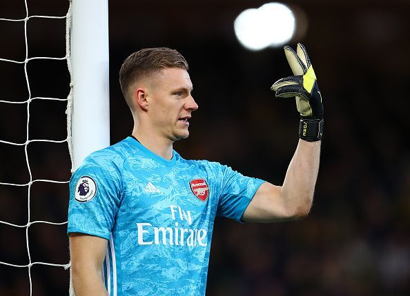 A hapless Bernd Leno couldn