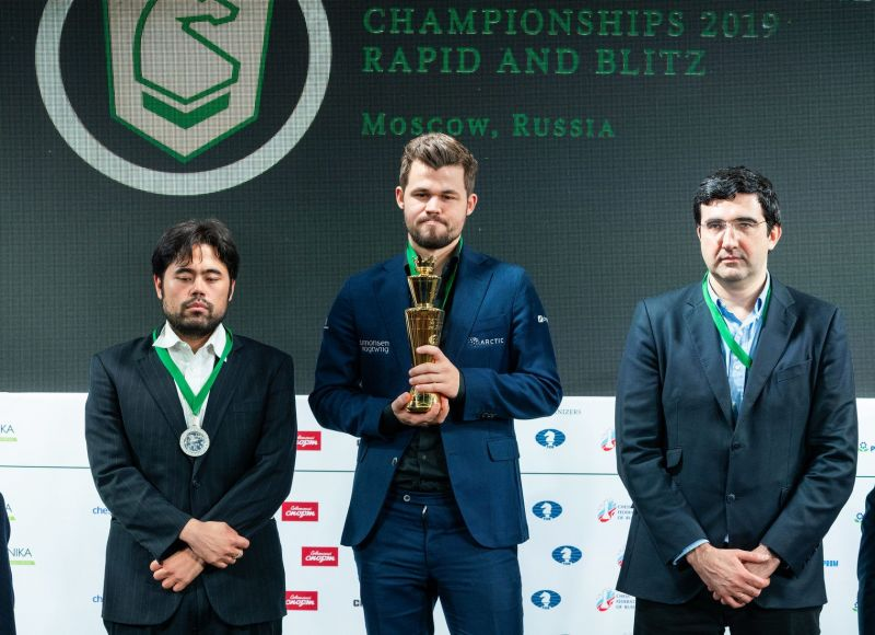 The three Blitz medal winners. Credits: Official Website, 2019