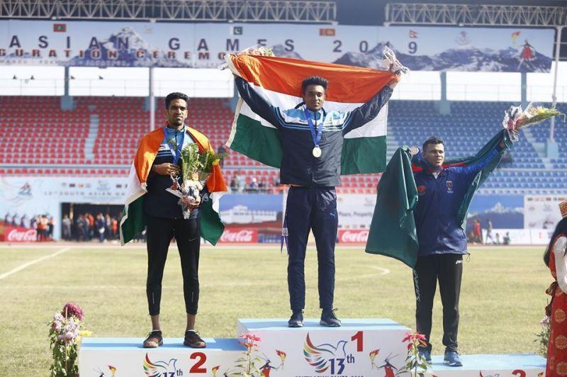 एथलेटिक्स में भारतीय खिलाड़ियों का बेहतरीन प्रदर्शन
