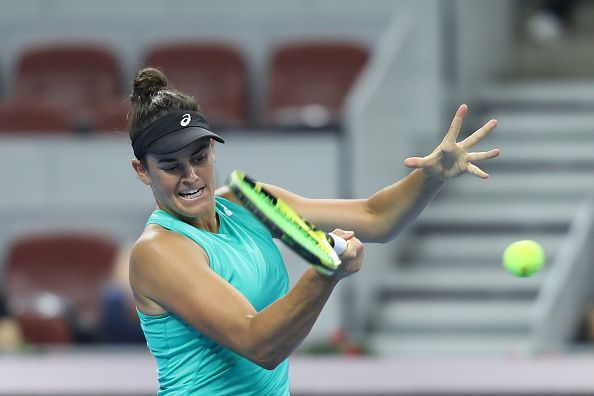 Jennifer Brady - will she record successive wins after prevailing against Kanepi last time out?
