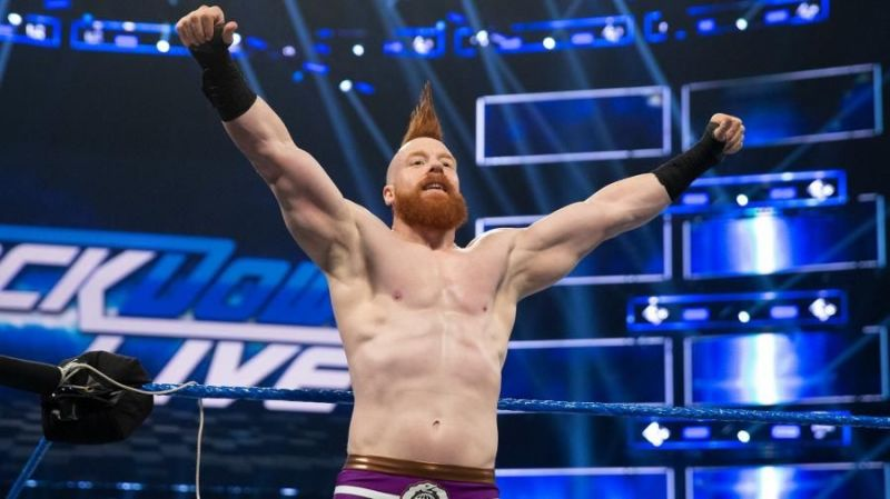 Sheamus is a four-time WWE World Champion