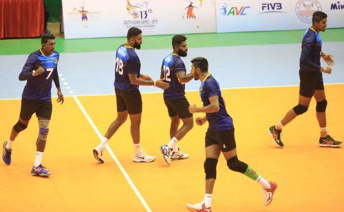 Sri Lanka Men's Volleyball team