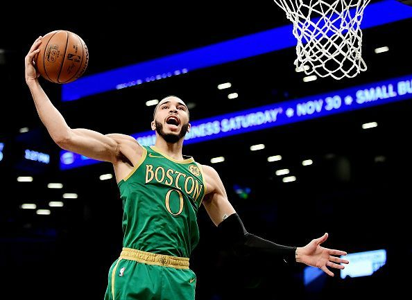 Tatum has excelled following the departure of Kyrie Irving