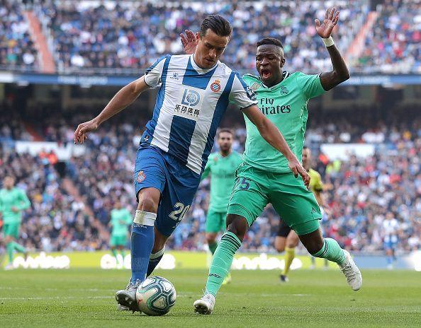 Vinicius Jr was blazing against Espanyol