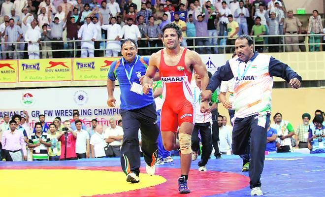 Amit Kumar won the gold medal in Men