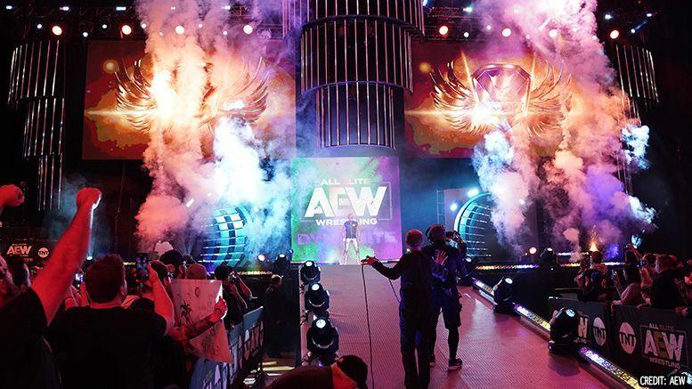 An AEW set
