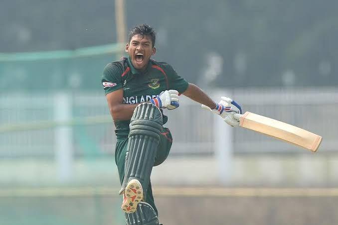 Nazmul Hossain Shanto is the skipper of the Bangladesh U-23 Cricket team at the SAG 2019