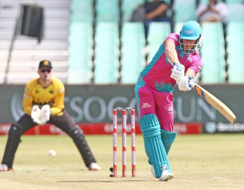 David Miller in action for the Durban Heat