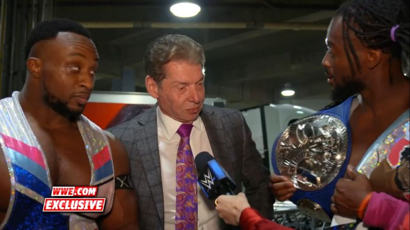 Vince and The New Day