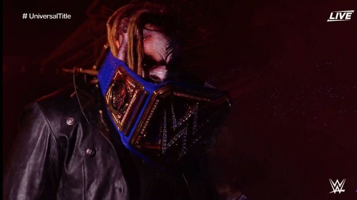 Image result for the fiend custom universal title