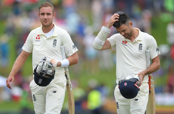 The duo shared seven wickets between them in the 1st Test v South Africa