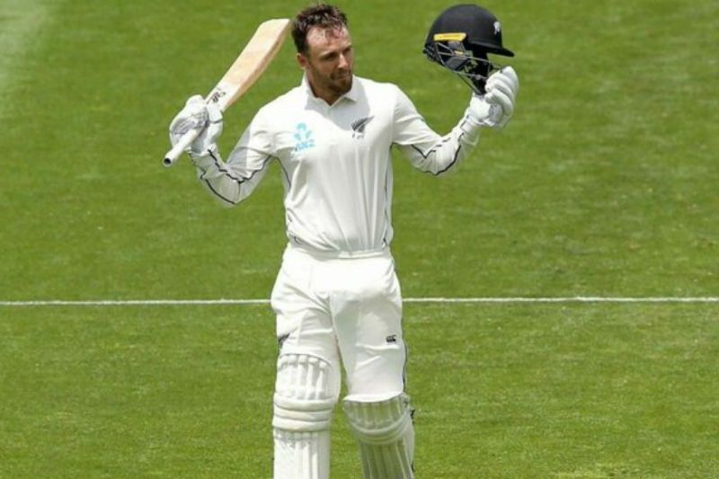 Tom Blundell scored an unbeaten 59 off 70 deliveries which included 10 boundaries.