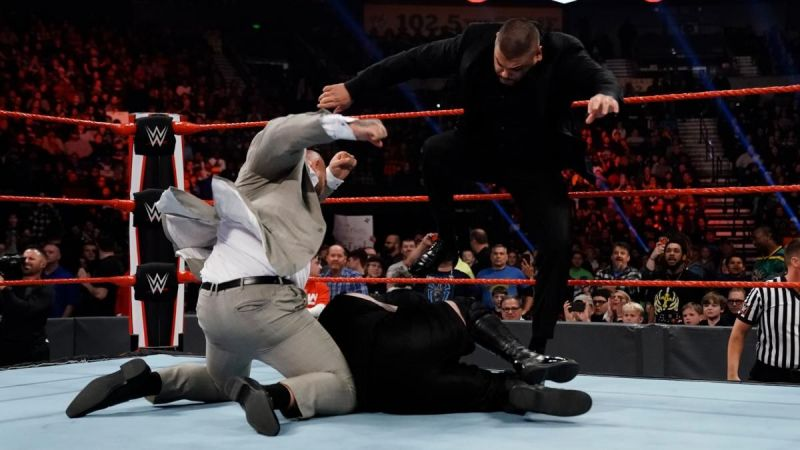 The match was cut short by the AOP