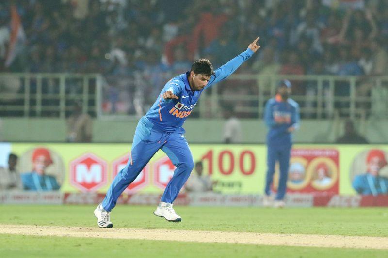 Kuldeep Yadav was back to his best