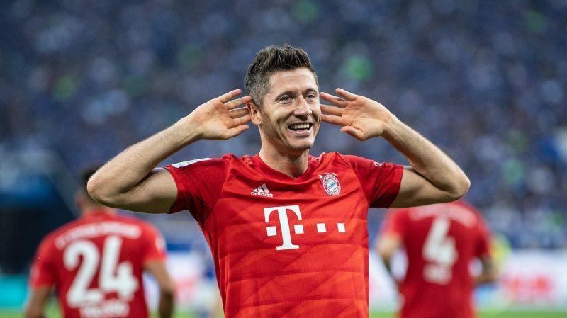 Robert Lewandowski had a record start to the 2019-20 Bundesliga season