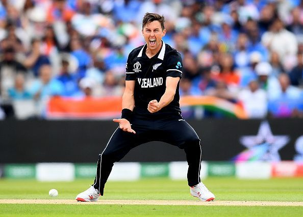 Trent Boult picked up a hat-trick against Australia during the 2019 ICC World Cup