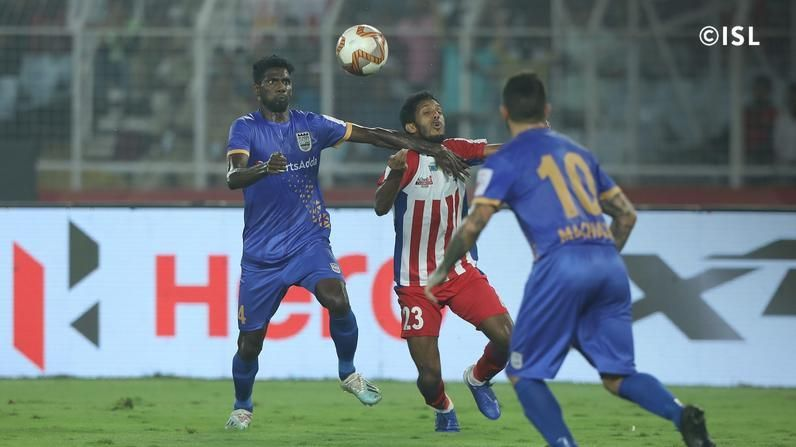Rowllin Borges could not contain the ATK midfield. Image: ISL