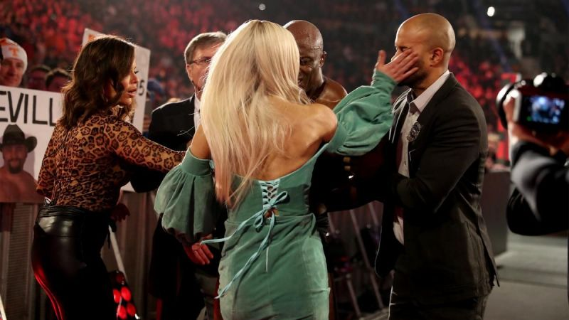 Lana made the mistake of slapping an officer this week