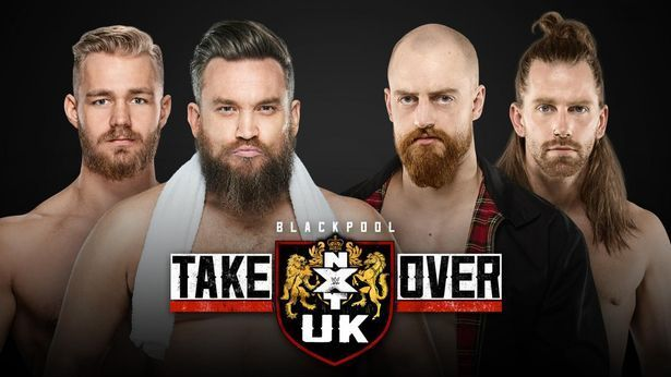 Image result for moustache mountain vs gyv takeover blackpool