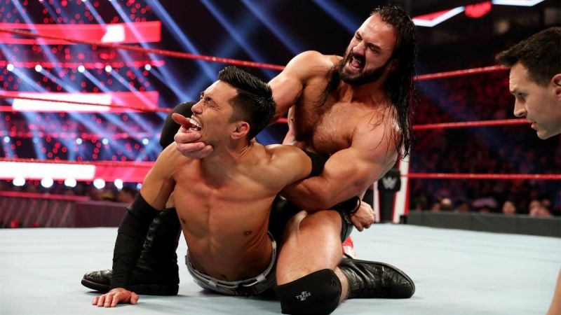 Drew McIntyre came out victorious