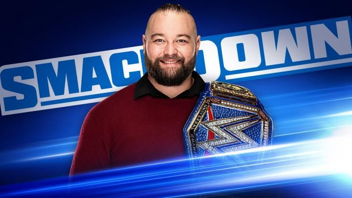 The Universal Title changed colour on SmackDown