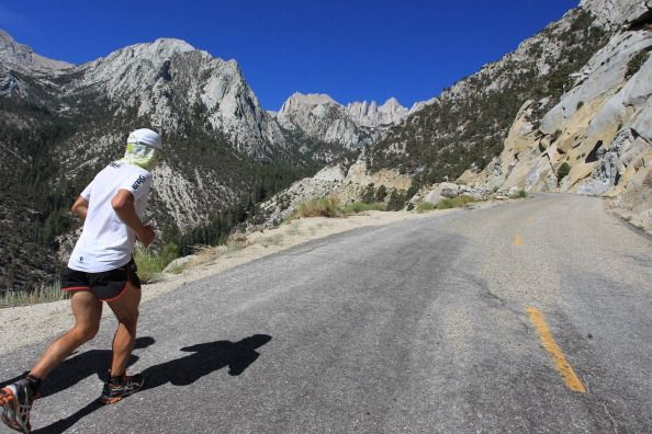 Annual Badwater Ultra Marathon Held In Death Valley