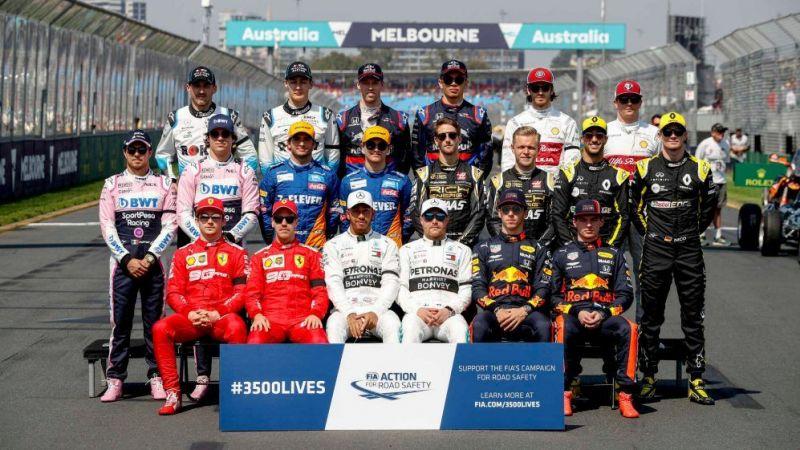 Formula One Drivers Pool
