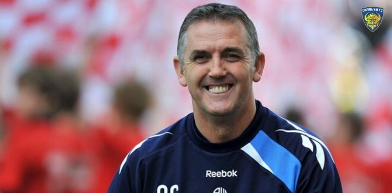 Owen Coyle is the new Chennaiyin FC manager (Picture Courtesy: Chennaiyin FC)