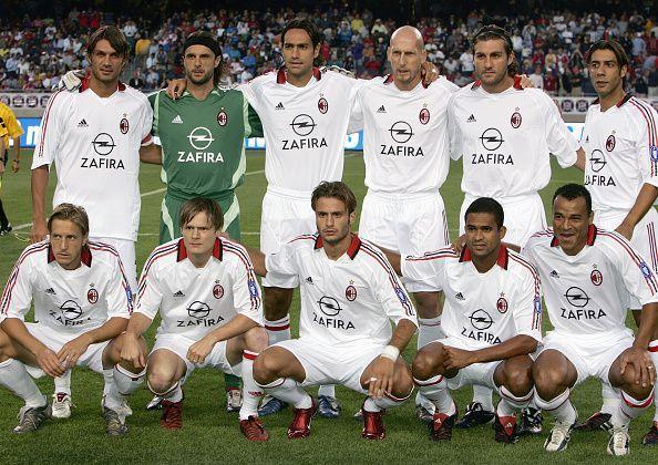 Maldini and Nesta: Milan