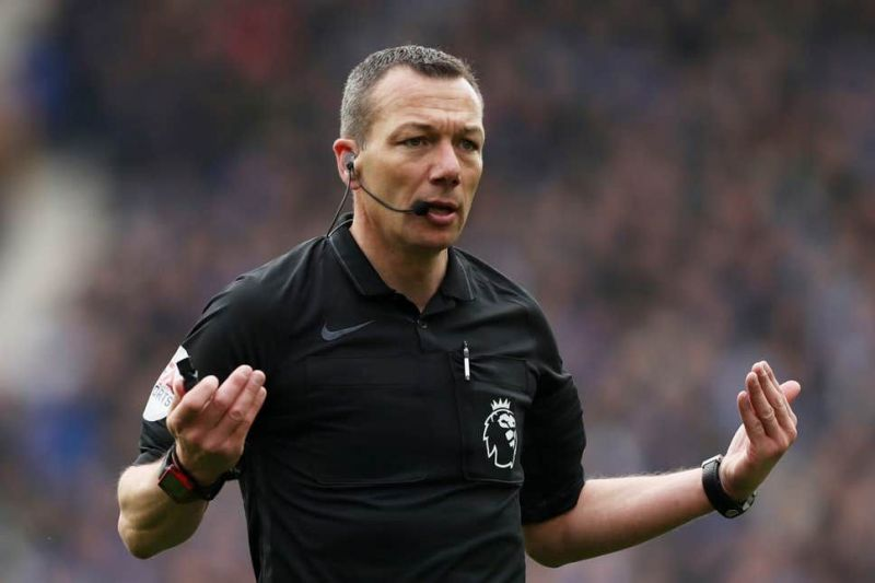 Referee Kevin Friend has come under criticism on numerous occasions