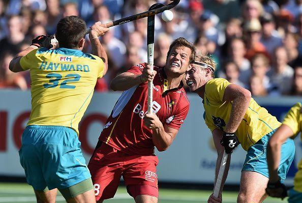 Belgium v Australia - Men