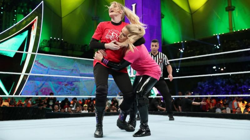 Lacey Evans vs Natalya in Saudi Arabia at Crown Jewel 2019